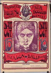 Stanley Mouse 1966 Avalon Ballroom Big Brother And The Holding Company 1ere Edn