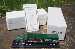 Matchbox Collectables Moosehead Kenworth Tractor Trailer Ccy03-m Mint In Box