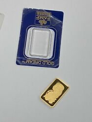 10 Gram Gold Bar - Pamp Suisse - Fortuna - 999.9 - Open Tested Gs