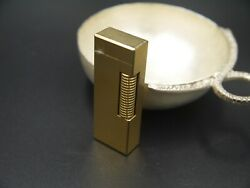 Dunhill Plaque D'or - Exquisite Cigarette Lighter In Perfect Condition...