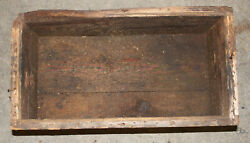 Original Us Military Wooden Ammo Finger Joint Crate Watervliet Gsod Arsenal