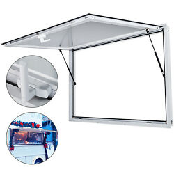 Vevor Concession Stand Serving Window 36x24 Food Truck Service Awning No Glass