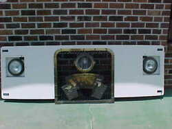 Vintage Chance Trolley Car Grille Panel