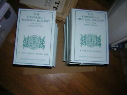 The Cambridge Modern History Planned By Lord Acton  13 Volume Set