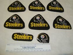 Pittsburgh Steelers Nfl Football Cotton Fabric Iron-on Patches Appliques Emblems