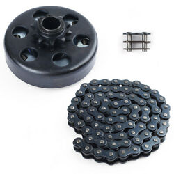 Centrifugal Go Kart Clutch 3 4quot; Bore 10 Tooth 10T with 4041420 Chain 6.5HP $25.99