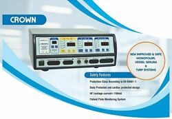 New Crown Vessel Sealing System 400w Bipolar-tur Compatible With Saline Machine