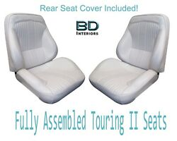 1964 Lemans And Gto Touring Ii Front Bucket Seats Assembled And Rear Seat Cover