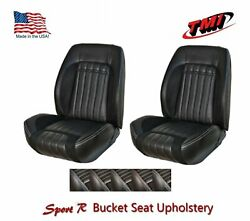 Sport R Front Bucket Lowback + Rear Upholstery For 1970 Camaro -tmi Products