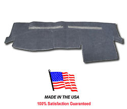 2004-2014 Chevy Colorado Gray Carpet Dash Cover Mat Pad Ch18-0 Made In The Usa