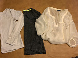 Euc Lot 3 Abercrombie And Fitch And Americsn Eagle Size Small