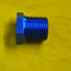 1 Inch Npt Male 3/8 Npt Female Reducer Blue 1 To 3/8