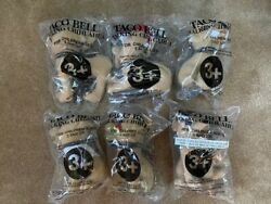 Taco Bell Promotional 6 Talking Chihuahua 6 Pack 1997
