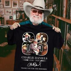 Charlie Daniels always in our heart T shirt  $10.99