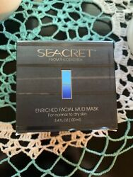 Seacret From The Dead Sea Enriched Facial Mud Mask 3.4 Oz