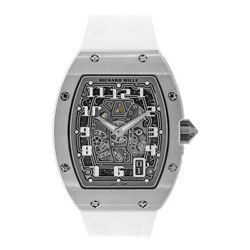 Richard Mille RM67-01 White Gold Extra Flat Automatic 47MM Watch RM67-01