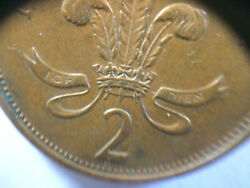 1971 New Pence 2 Coin Bronze, Collector Coin Great Condition