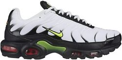 Men's Nike Air Max Plus SE Shoes Torch White AJ2013-100 $119.95