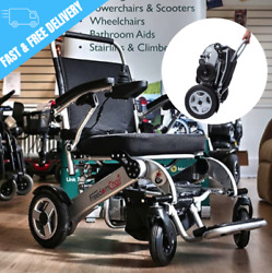 Freedom Folding Electric Wheelchair With Free P+p To Uk And Ireland