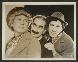 1930and039s The Marx Brothers Photo Bros Grocho Harpo Chico