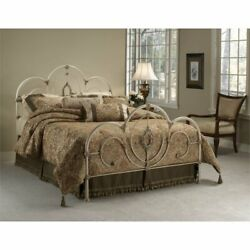 Hillsdale Victoria Queen Spindle Bed In Antique White