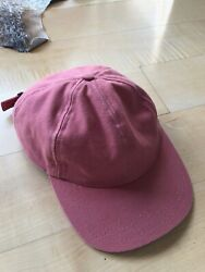 Corridor NYC Dad Hat salmon pink one size fits all SS19 canvas hat adjustable $24.99