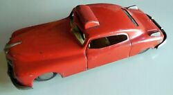 Vintage Tin Toy Wind Up Fire Chief Car Arnold Made In West Germany 1950s