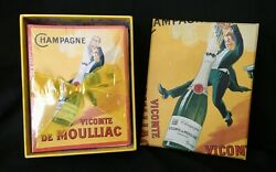 Note Card Set 20 Cards And 20 Envelopes Antique Liquor Advertising Posters In Box