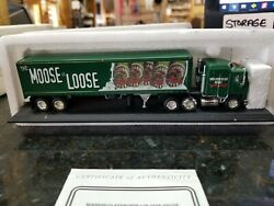 Matchbox Collectables Moosehead Kenworth Cab-over-engine Tractor Trailer Ccy03-m