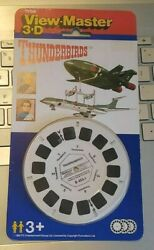 Rare Thunderbirds Tv Show Sci-fi Gerry Anderson View-master Reels Pack Sealed