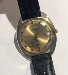 Solid 14k Longines Ultra-chron Automatic Watch 1960s Cal.431