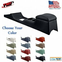 Full Length Console For 1967 - 68 Mustang Convertible With Factory Ac