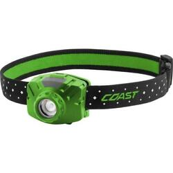 Coast Headlamp Water Resistant Flex Charge Usb Led Rechargeable Green 450 Lumen