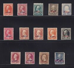 Sample And Sample A Types K And L Scarce Mint Set Cv 1900 See Pic