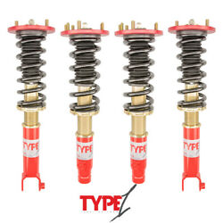 Function And Form F2 Type 1 Adjustable Coilovers For Honda Accord 2008-2012