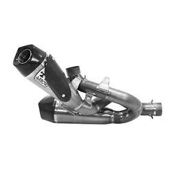 Kit Exhaust With Link Pipe Titanium Arrow Works For Ducati Streetfighter V4 2020