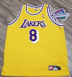 Near Mint Kobe Bryant Size 52 Nike Authentic Jersey 1997-1999 Los Angeles Lakers