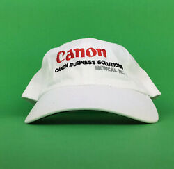 Canon Business Solutions Newcal Inc  Equitrac Baseball Cap Hat Adj. Mens Cotton $23.00