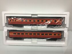 Mth 20-66216 Southern Pacific 2-car 70' Streamlined Sleeper/diner Passenger Set