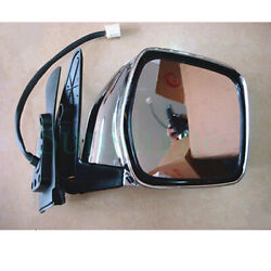 1x For Toyota Prado Lc90 97-02 Right Passeng Silvery Rearview Mirror Cover 3wire
