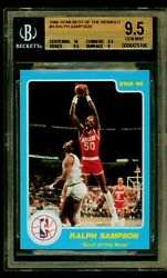 1986 Star Co. Ralph Sampson Best Of The New Bgs 9.5 10 Centering Rare