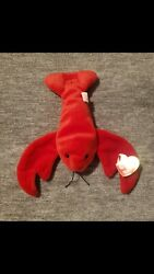 Ty Beanie Baby Pinchers The Lobster 1993 Style 4026 New With Tags Retired