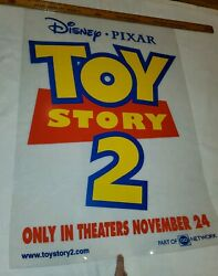 Toy Story 2 Cinema Store Display Release 3d Clear Transparent Movie Poster