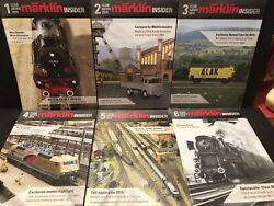Marklin Insider Club News Magazine For 2010 Complete Year 6 Issues Railroading