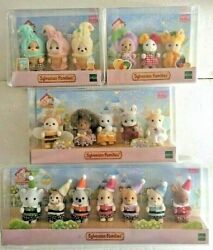 Sylvanian Families 35th Anniversary Baby Limited 4set Epoch Japan 2020 Calico