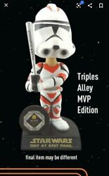 Rare Sf Giants Buster Posey Star Wars Day Clone Trooper Bobblehead 2013 Se