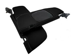 Sunvisors Cover Leather for Ford Mustang Convertible 1994 2004 Black $49.99