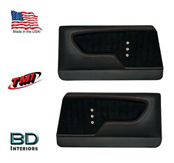 Custom Made Molded Sport Xr Door Panels For 1968 Chevrolet Chevelleand039s By Tmi