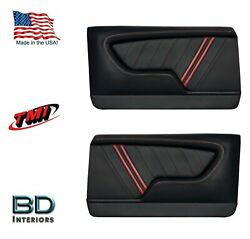Custom Made Molded Sport R1000 Door Panels For 1969 Chevrolet Chevelleand039s By Tmi