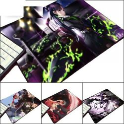 Mouse Pad Animation Seraph The End Comic Cute Cool Girl Manga Lovers Table Mat